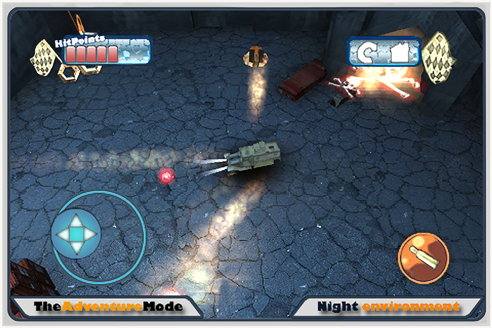 Screenshot Armor of war 3D